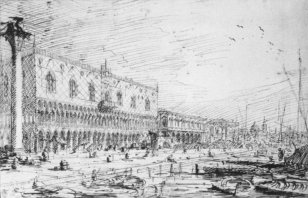 Venice: Riva degli Schiavoni - Canaletto