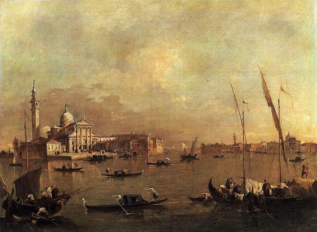 Venice: San Giorgio Maggiore - Francesco Guardi