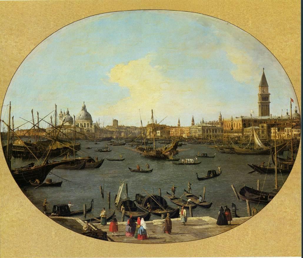 Venice Viewed from the San Giorgio Maggiore - Canaletto