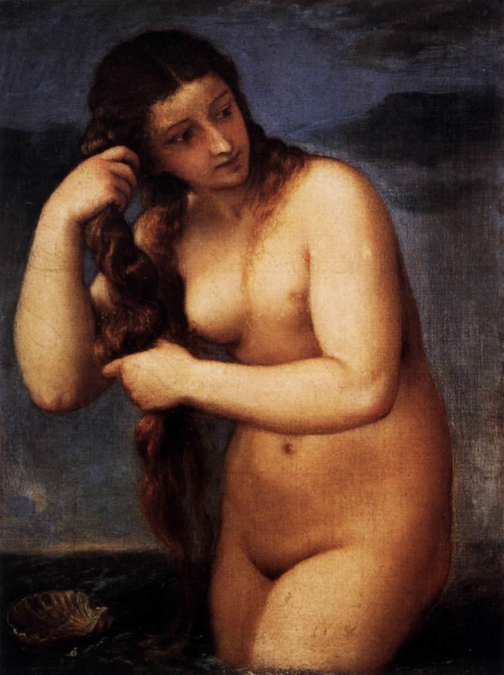 Venus Anadyomene - Jean Auguste Dominique Ingres