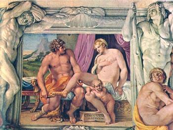Venus and Anchises - Annibale Carracci