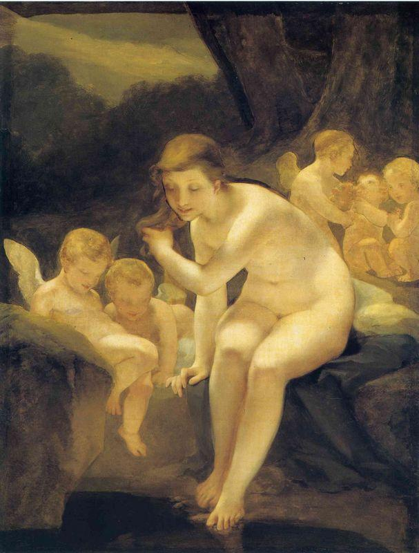 Venus Bathing (Innocence) - Pierre-Paul Prud'hon