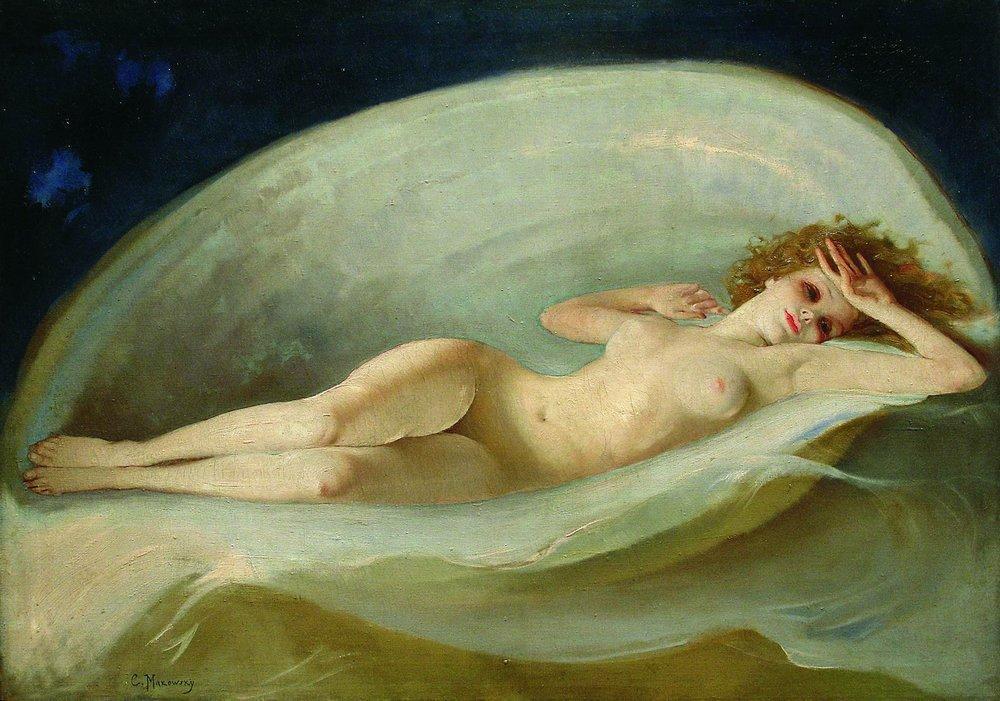 Venus Birth - Konstantin Makovsky