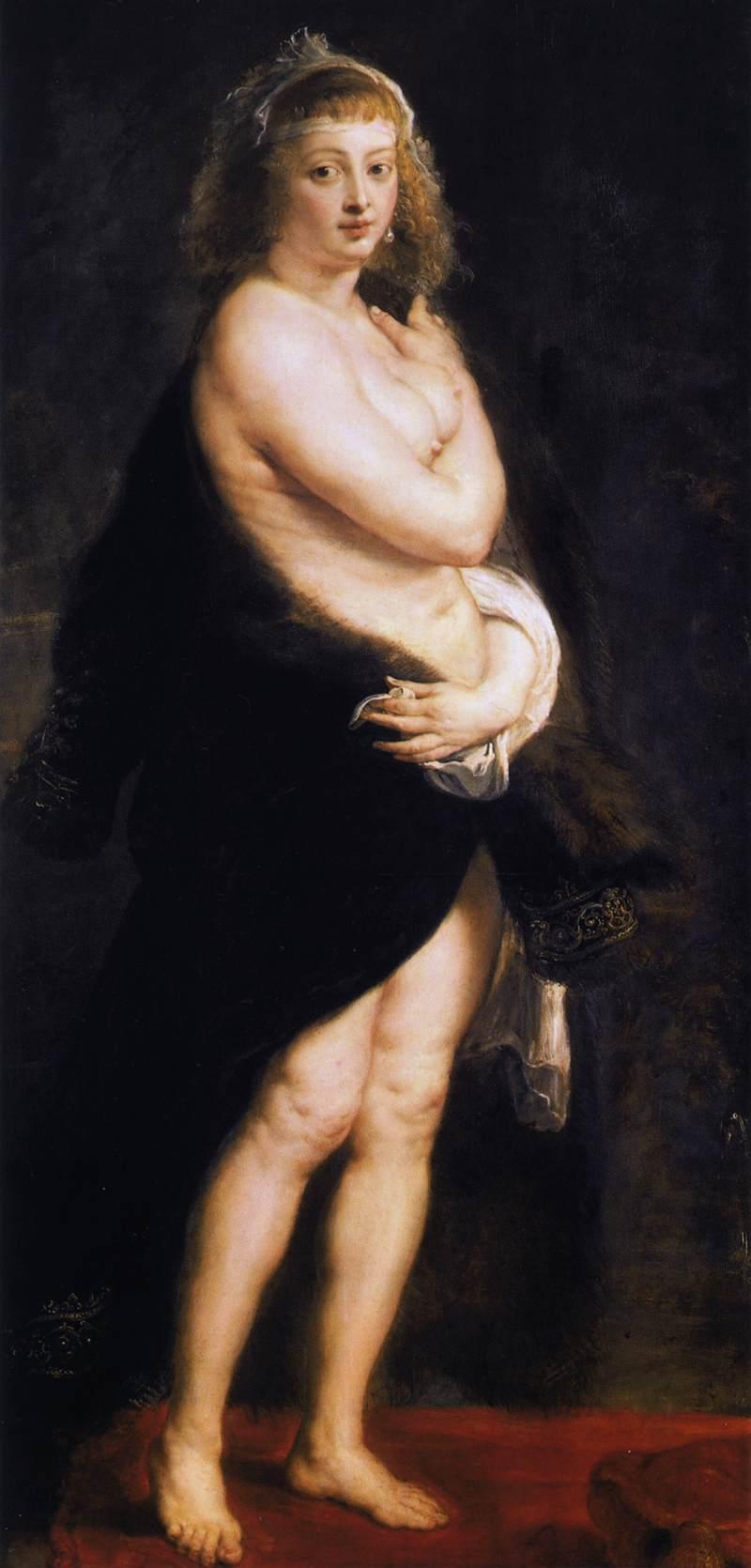 Venus in Fur Coat - Peter Paul Rubens