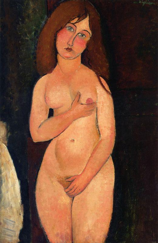 Venus (Standing nude) - Amedeo Modigliani