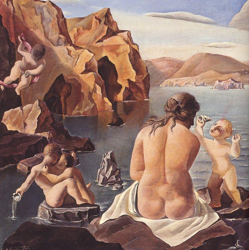 Venus with Cupids - Salvador Dali