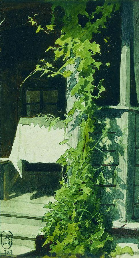 Veranda - Ivan Kramskoy