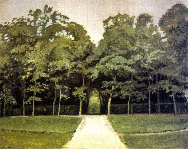 Versailles. Alley - Alexandre Benois