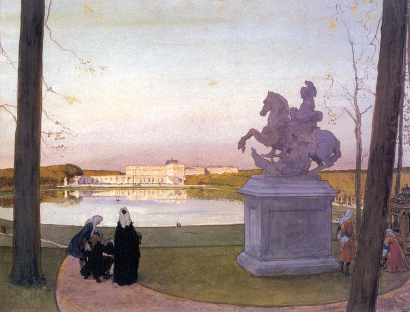 Versailles. At Curtius. - Alexandre Benois