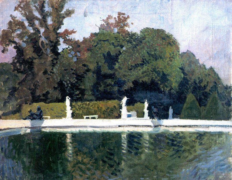 Versailles. Water parterre - Alexandre Benois