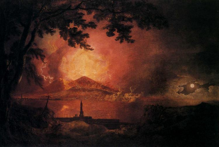 Vesuvius in Eruption - Joseph Wright