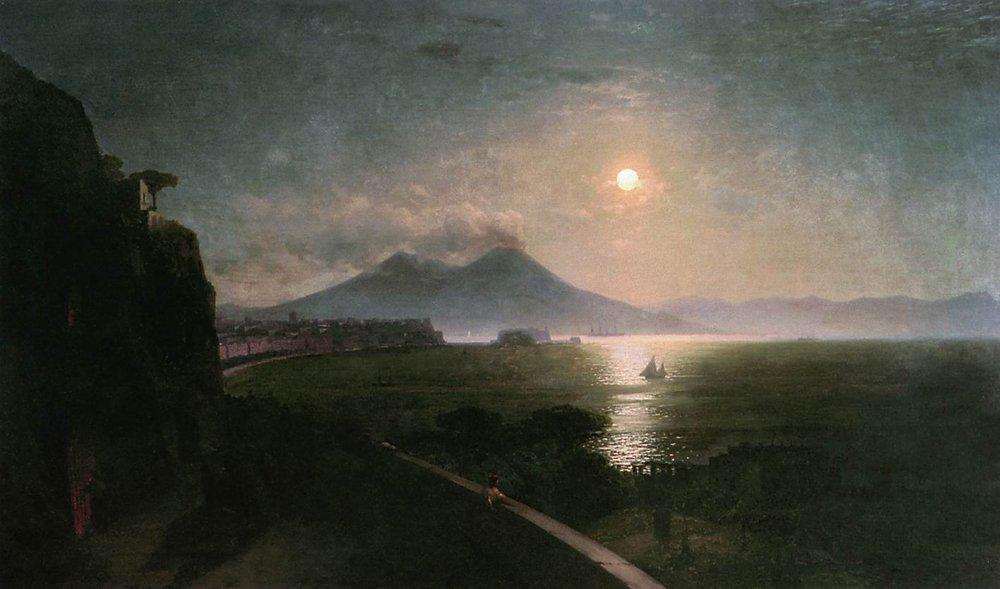 Vesuvius - Ivan Aivazovsky