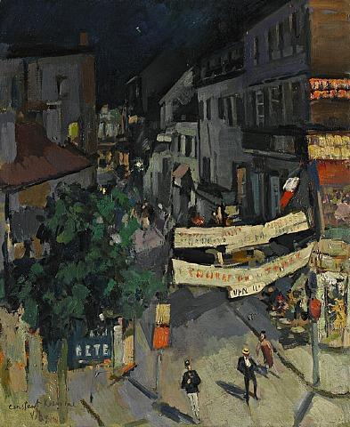 Vichy at Night - Konstantin Korovin