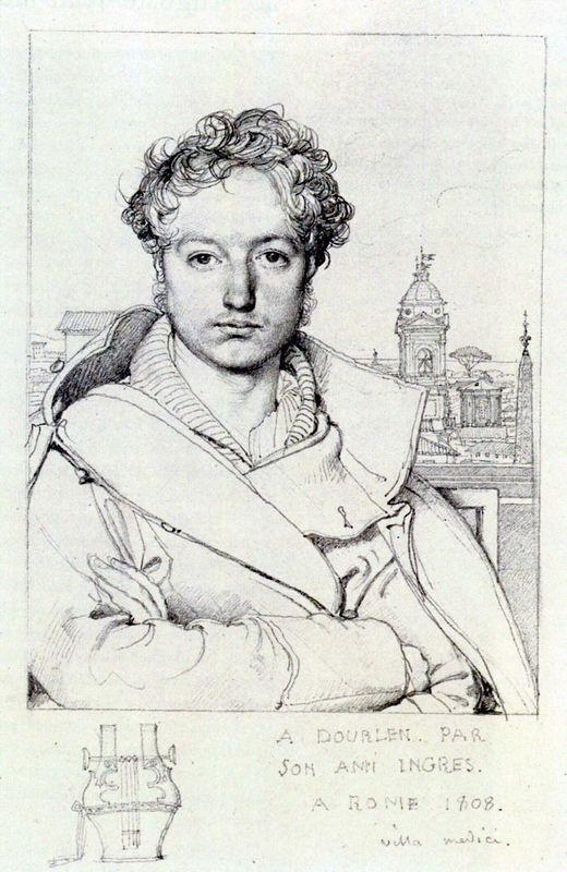 Victor Dourlen - Jean Auguste Dominique Ingres