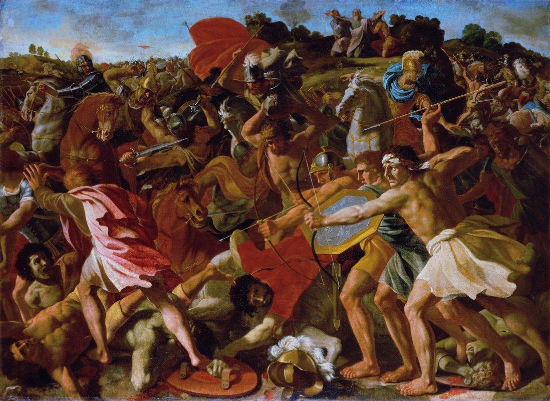 Victory of Joshua over the Amalekites - Nicolas Poussin