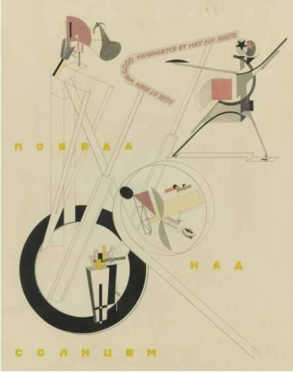 Victory over the Sun: All is well that begins well and has no end - El Lissitzky