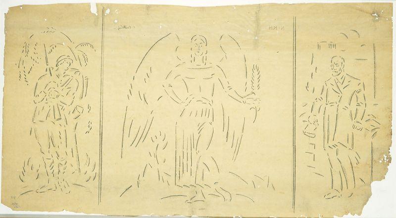 Victory Triptych - Konstantinos Parthenis