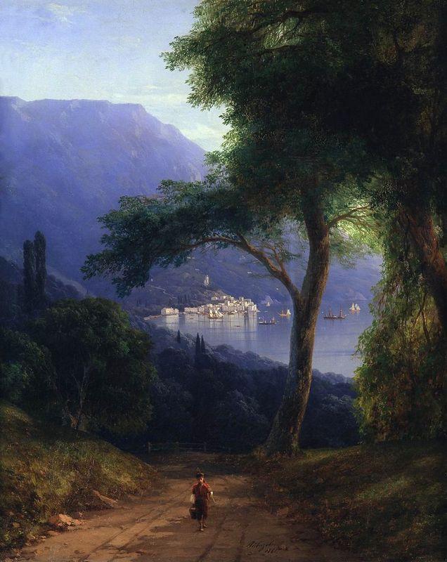 View from Livadia - Ivan Aivazovsky