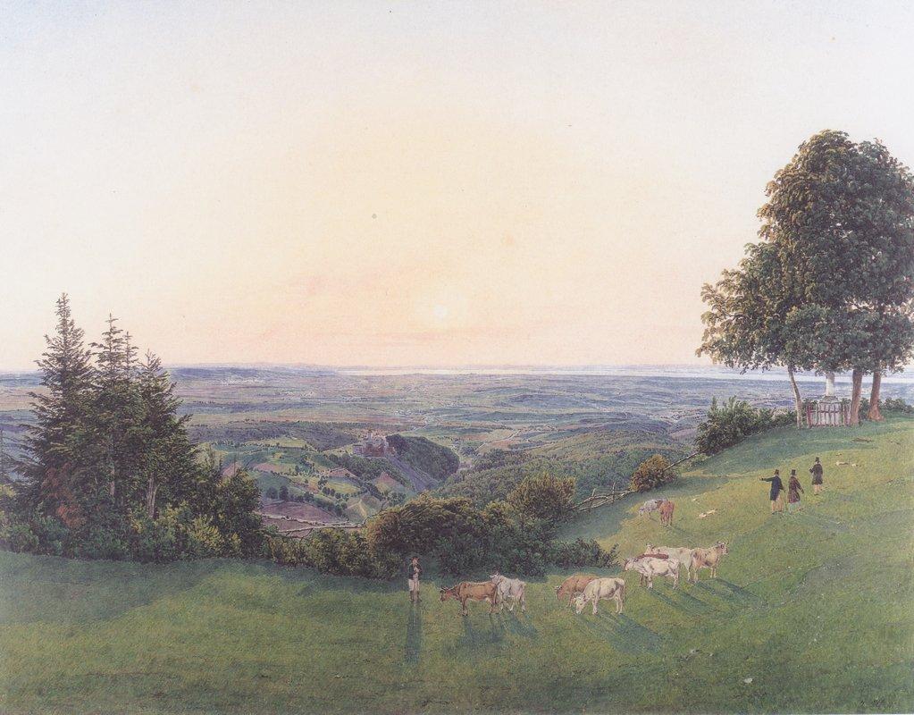 View from the chapel Rosalie - Rudolf von Alt