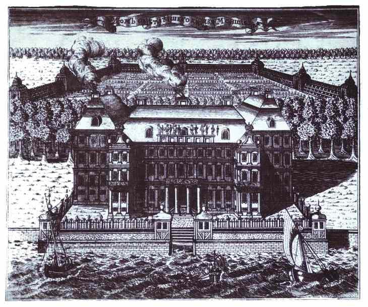 View of A. Menshikov's Palace on Vasilievsky Island - Alexey Zubov