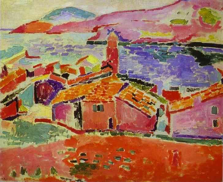 View of Collioure  - Henri Matisse