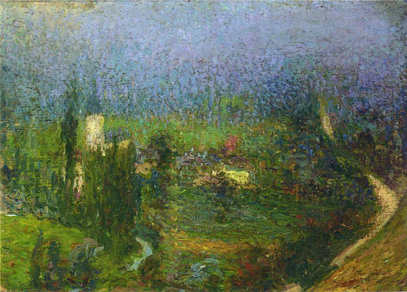 View of Labastide du Vert - Henri Martin