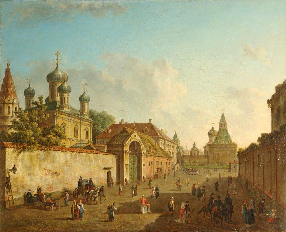 View of Lubyanka - Fyodor Alekseyev