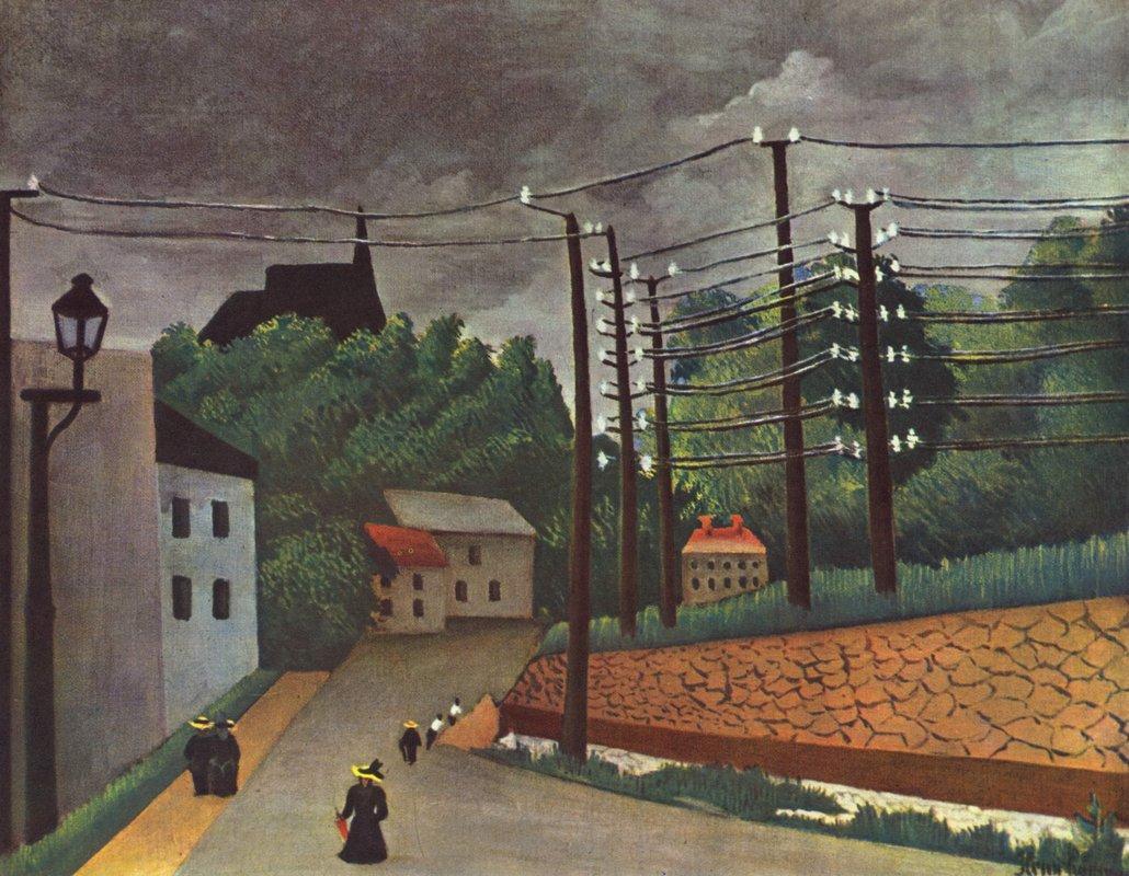 View of Malakoff Hauts de Seine - Henri Rousseau