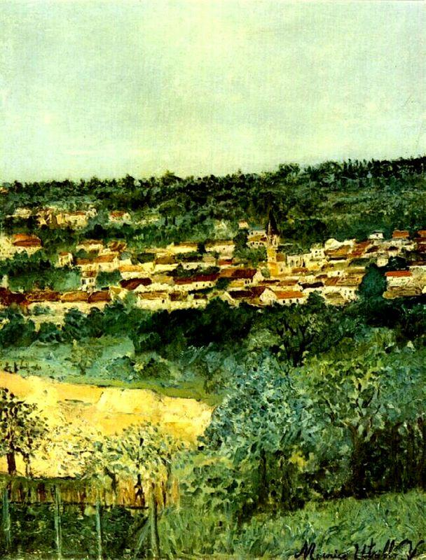 View of Montmagny - Maurice Utrillo