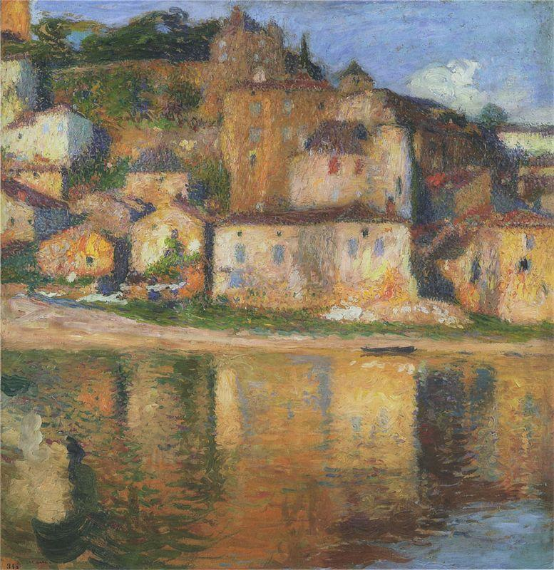 View of Puy l'Eveque - Henri Martin
