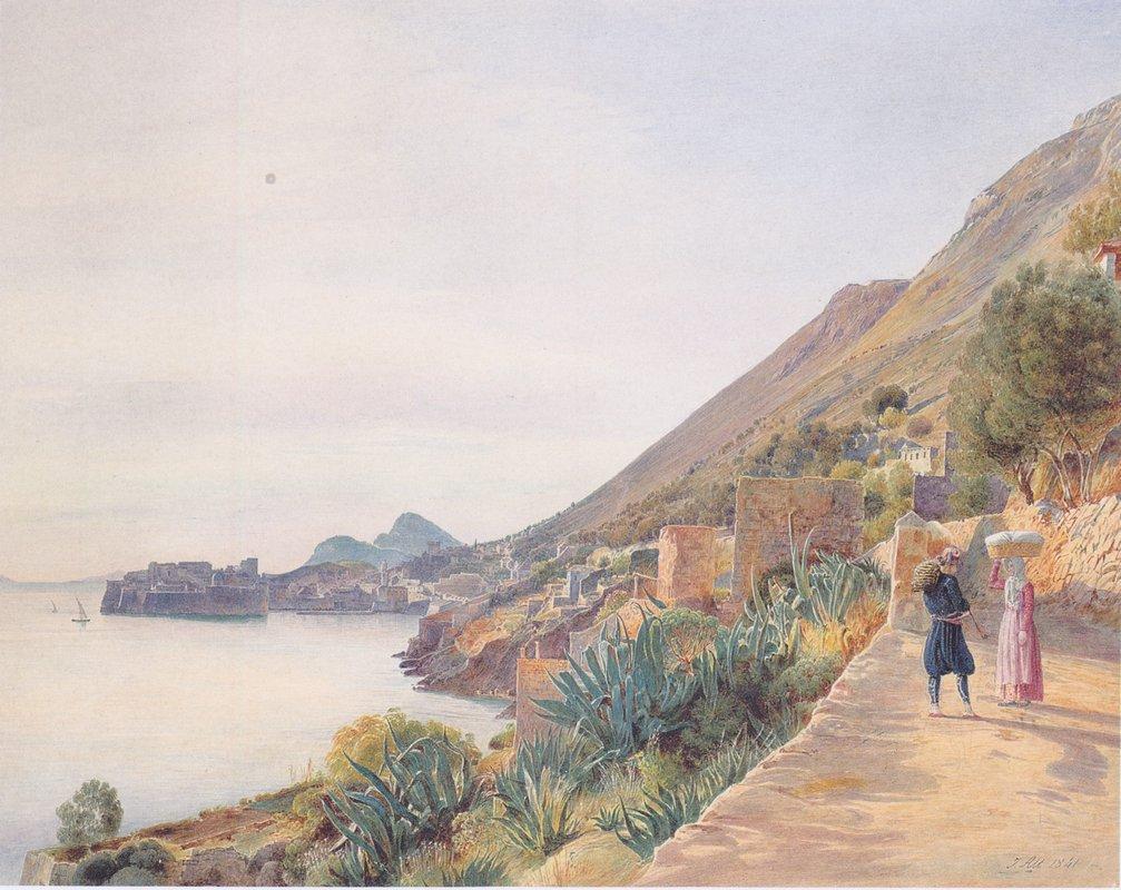 View of Ragusa - Rudolf von Alt