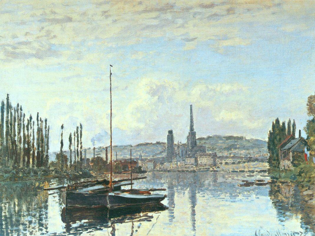 View of Rouen - Camille Pissarro