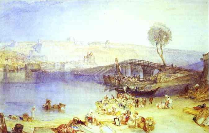 View of Saint Germain en Laye and its Chateau - William Turner