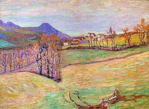 View of Saint-Sauves - Armand Guillaumin