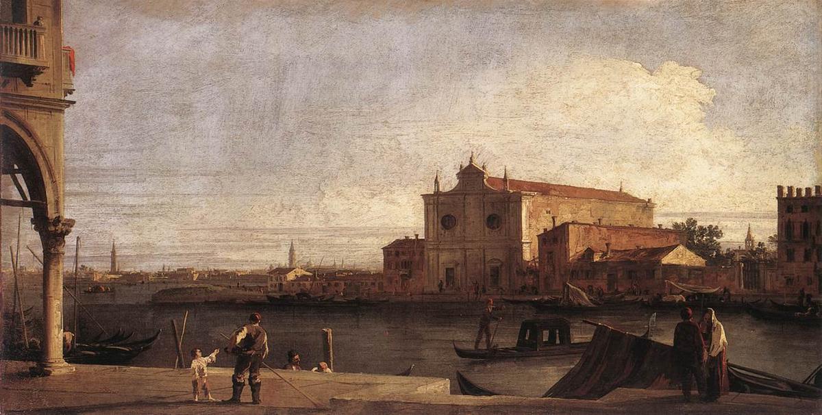 View of San Giovanni dei Battuti at Murano - Canaletto
