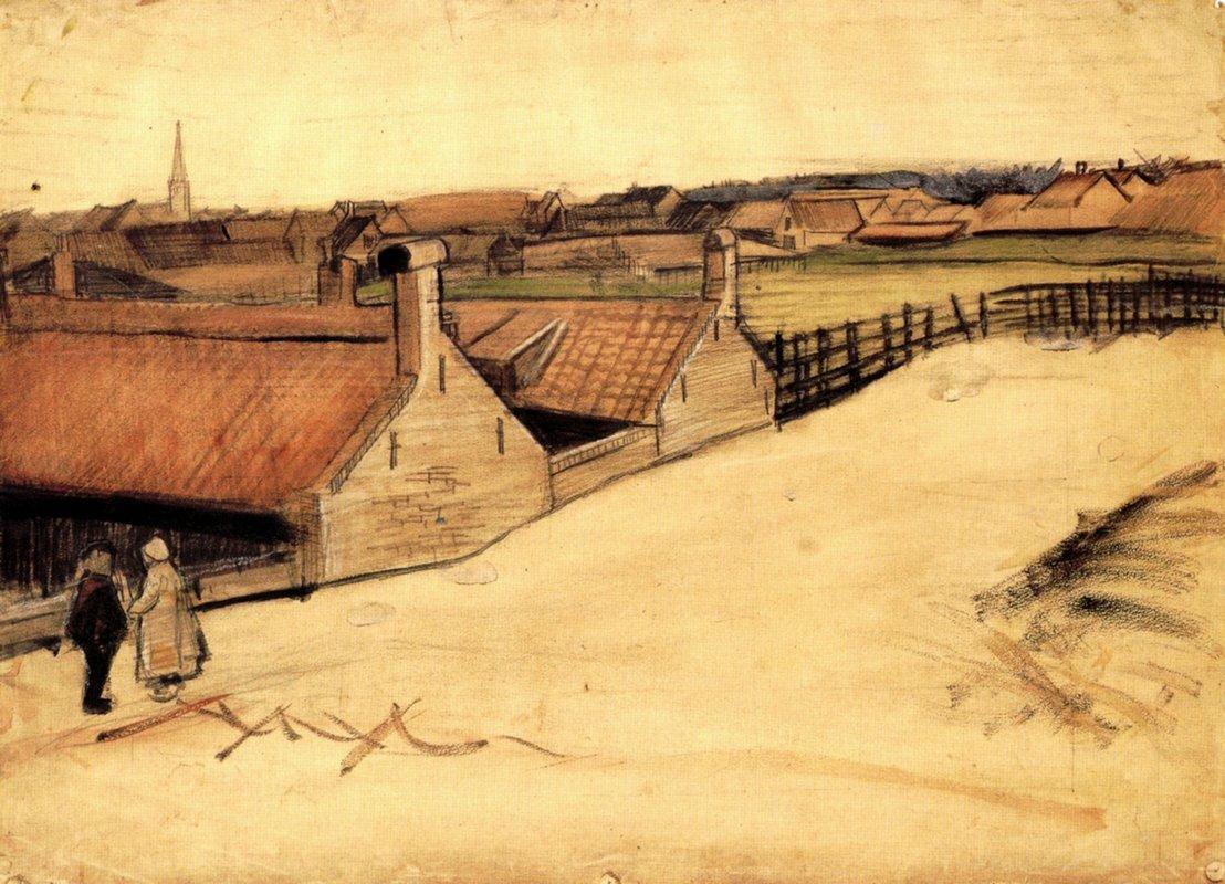 View of Scheveningen - Vincent van Gogh