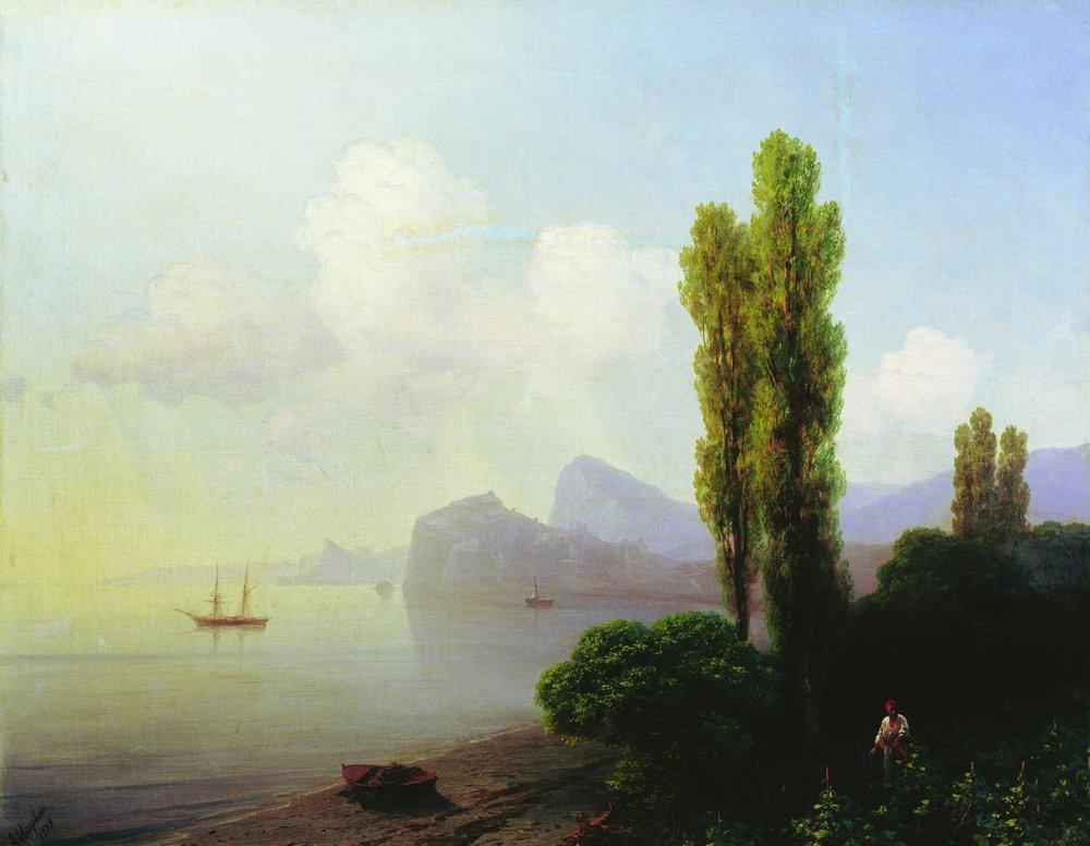 View of Sudak Bay - Ivan Aivazovsky