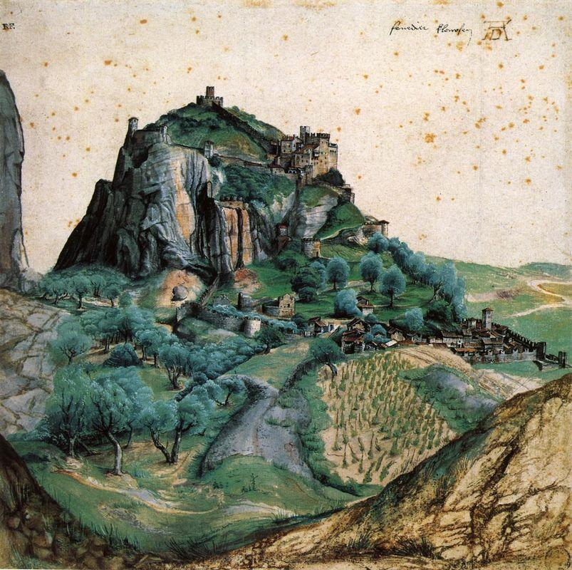 View of the Arco Valley in the Tyrol - Albrecht Durer