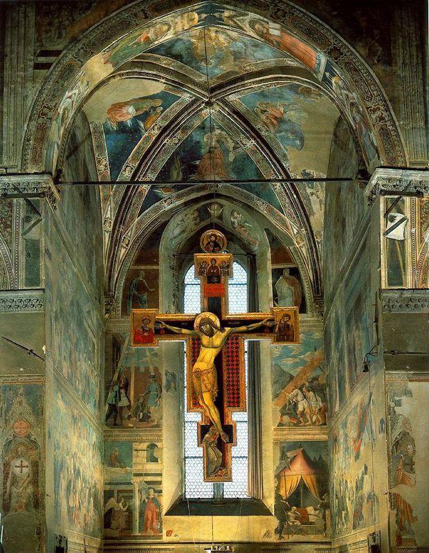 View of the Cappella Maggiore - Piero della Francesca