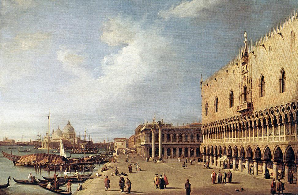 View of the Ducal Palace - Canaletto