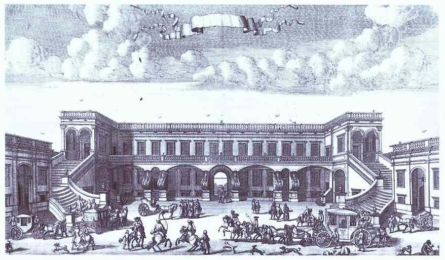 View of the Gagarin's Moscow Mansion from the Courtyard - Alexey Zubov