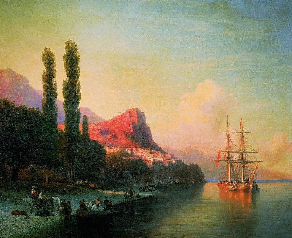 View of the Golden Horn - Ivan Aivazovsky