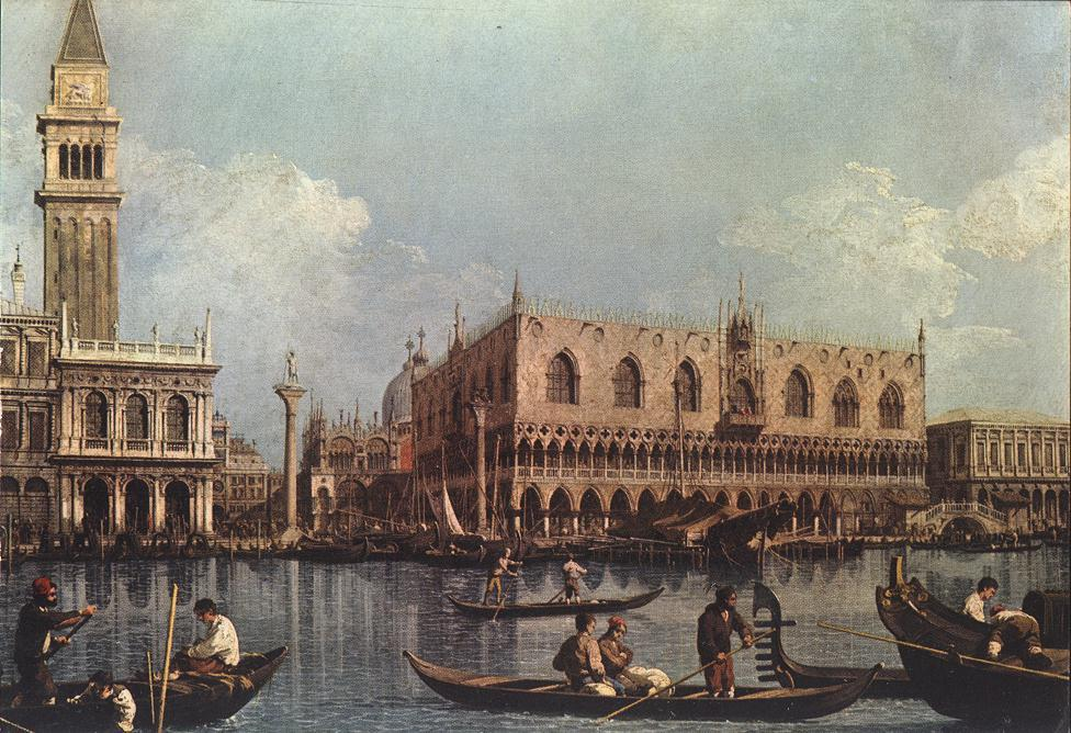 View of the St. Mark's Basin - Canaletto