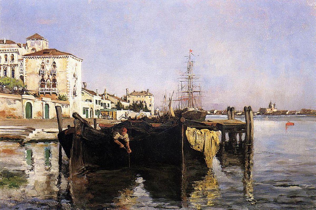 View of Venice - Henri Martin