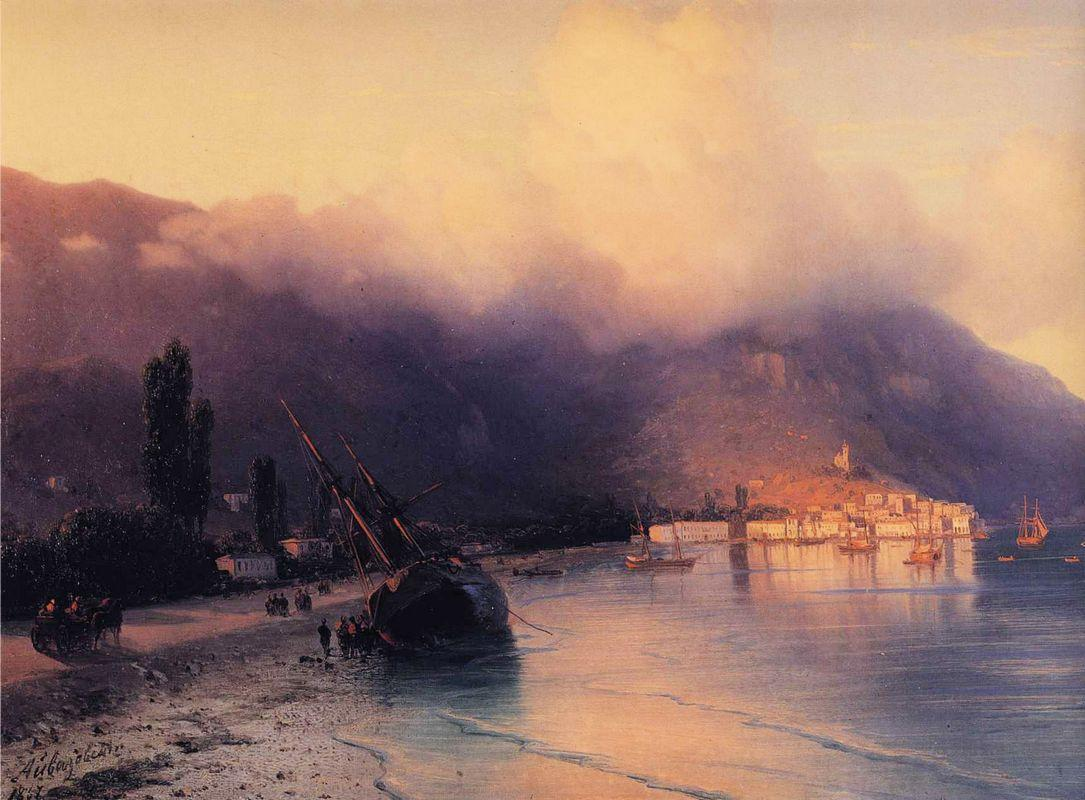 View of Yalta - Ivan Aivazovsky