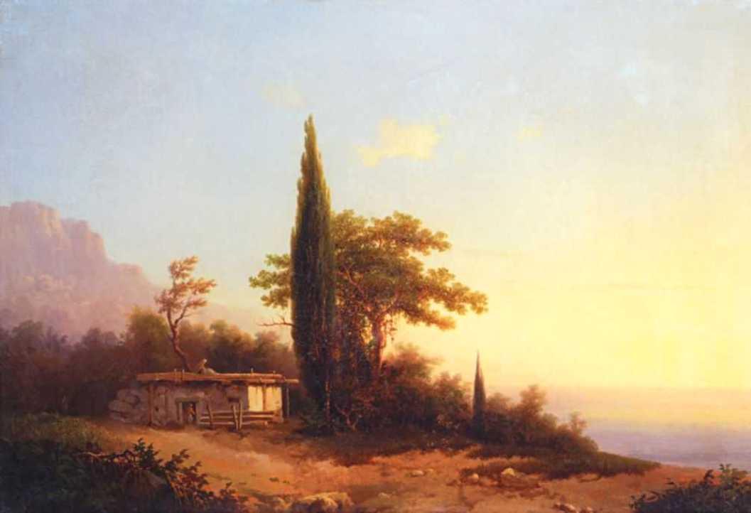 View on Crimea - Ivan Aivazovsky