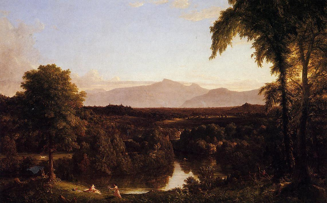 View on the Catskill, Early Autumn - Thomas Cole
