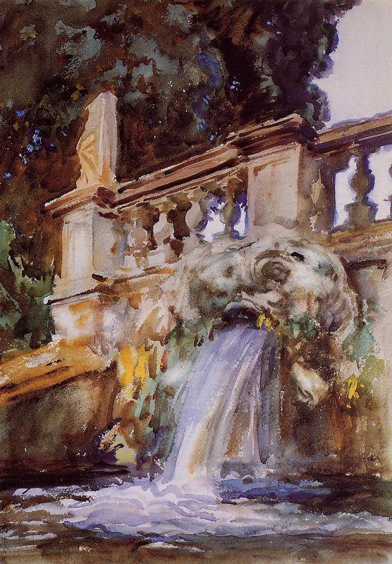 Villa Torlonia, Frascati - John Singer Sargent