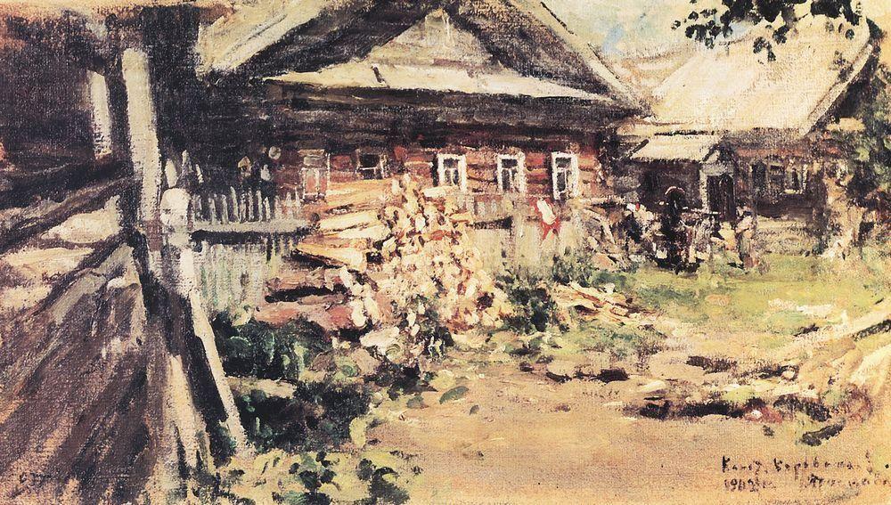 Village  - Konstantin Korovin