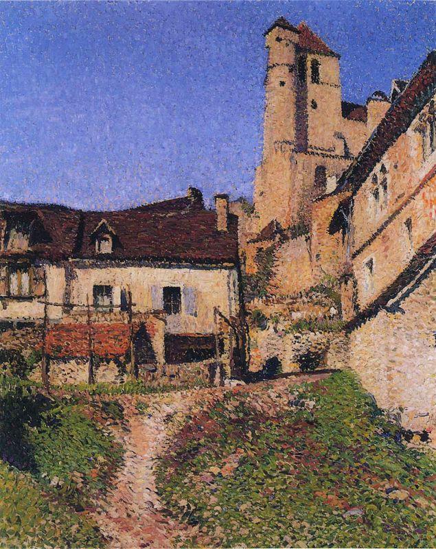 Village Corner - Henri Martin